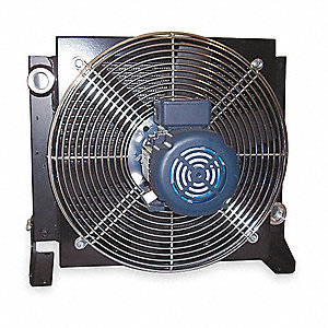 OIL COOLER,AC,4-50 GPM,115/230 V,1/