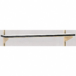 Shelf Riser,72 W x 12 D x 12 in. H,Beige