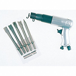 General Duty Air Hammer Kit, Blows per Minute: 2000, Stroke Length: 3-1/2""