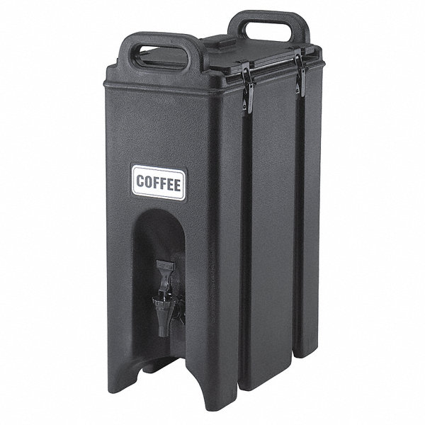 Cambro 4 75 Gal Beverage Dispenser Dark Brown 4ujl8