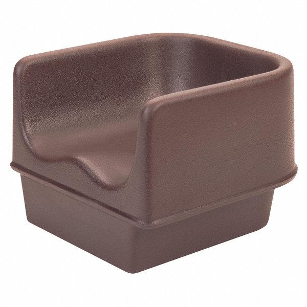 Cambro Single Booster Seat Dark Brown 22w905 Ea100bc1131