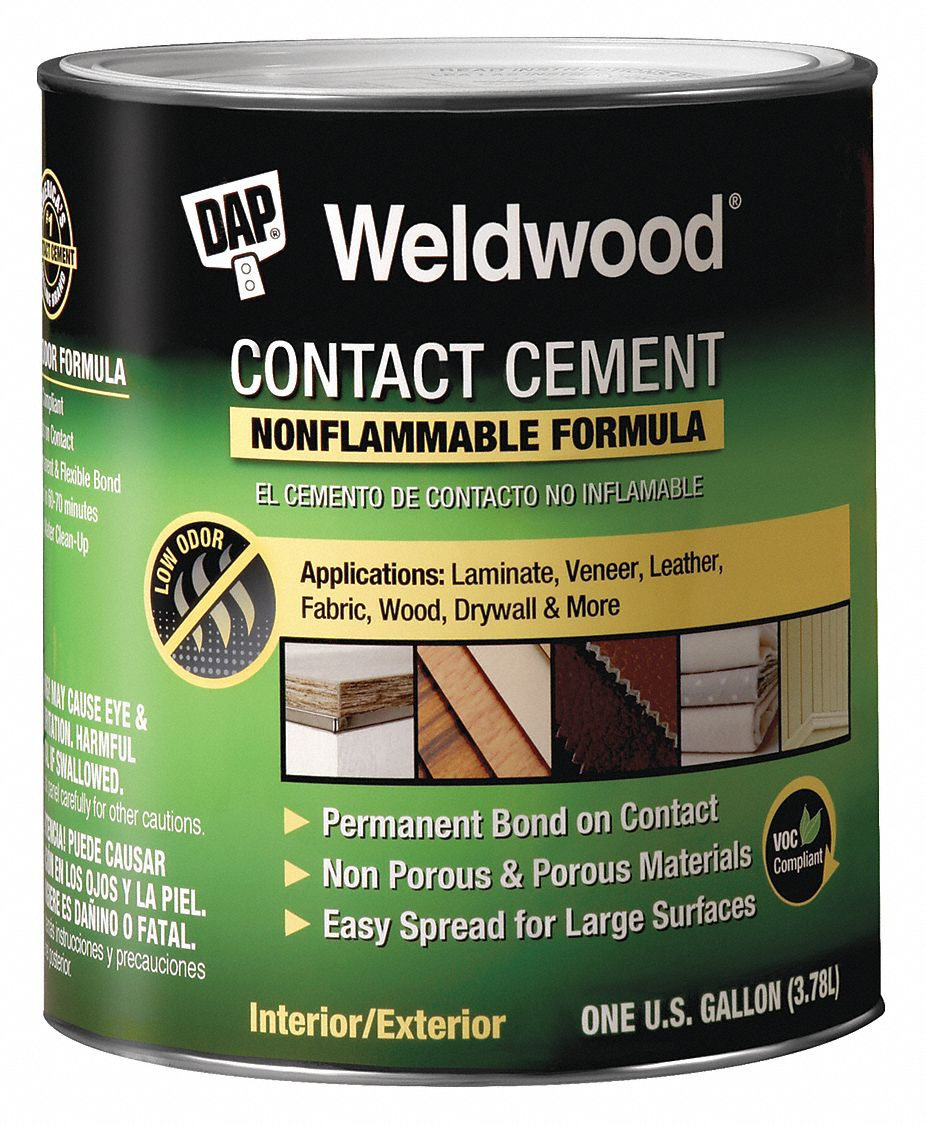 1 gal  Non Flammable Contact Cement