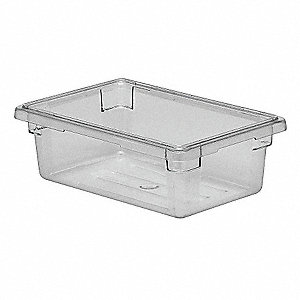 Food Box,Use Lid 4UKD3,H 6 In,PK6