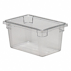 Food Box,Use Lid 4UKD3,H 9 In,PK6