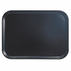 Tray, Rectangular, 14x18, Black, PK12
