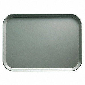 Tray,Rectangular,Gray,14x18,PK12