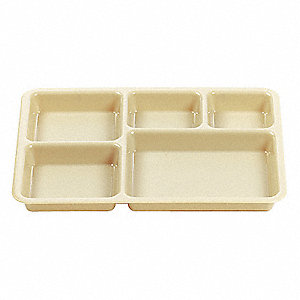 Compartment Base Tray,Beige,PK24