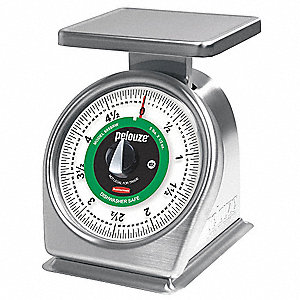 Mchnicl Portion Control Scale,5 lb. Cap.