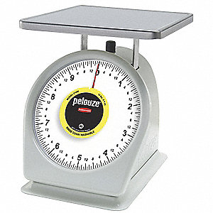 10 lb. Mechanical Analog Dial Compact Bench Scale