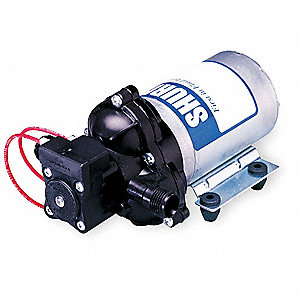 Polypropylene Electric Sprayer Pump, 3.2 GPM Max., 115VAC