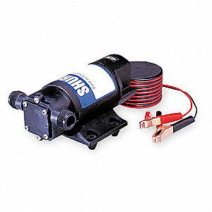 8.0 Amps 1/9 HP Flexible Pump, 10 psi, 3/4 GHT x 3/8 (F)NPT