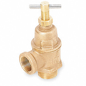 Positive Displacement Adjustable Pressure Relief Valve, 3/4 NPT (M)