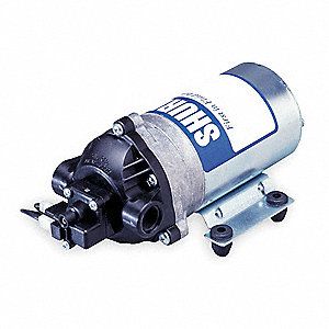 Nylon — Diaphragm Pump, 1.6 GPM Max., 115VAC
