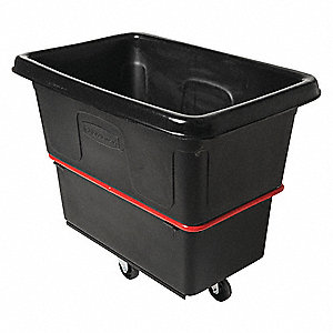 Black Cube Truck, 8.0 cu. ft. Capacity, 700 lb. Load Capacity