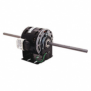 1/20 HP Room Air Conditioner Motor,Permanent Split Capacitor,1075 Nameplate RPM,115 Voltage,Frame 42