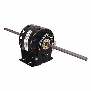1/10 HP Room Air Conditioner Motor,Permanent Split Capacitor,1625 Nameplate RPM,115 Voltage,Frame 42