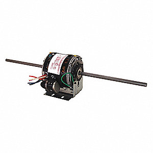 1/6 HP Room Air Conditioner Motor,Permanent Split Capacitor,1625 Nameplate RPM,115 Voltage,Frame 42Y