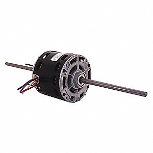 1/12 HP Room Air Conditioner Motor,Shaded Pole,1550 Nameplate RPM,115 Voltage,Frame 42Y