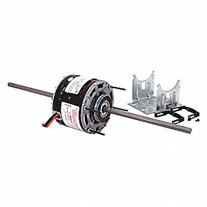 1/35 HP Room Air Conditioner Motor,Shaded Pole,1050 Nameplate RPM,115 Voltage,Frame 42Y