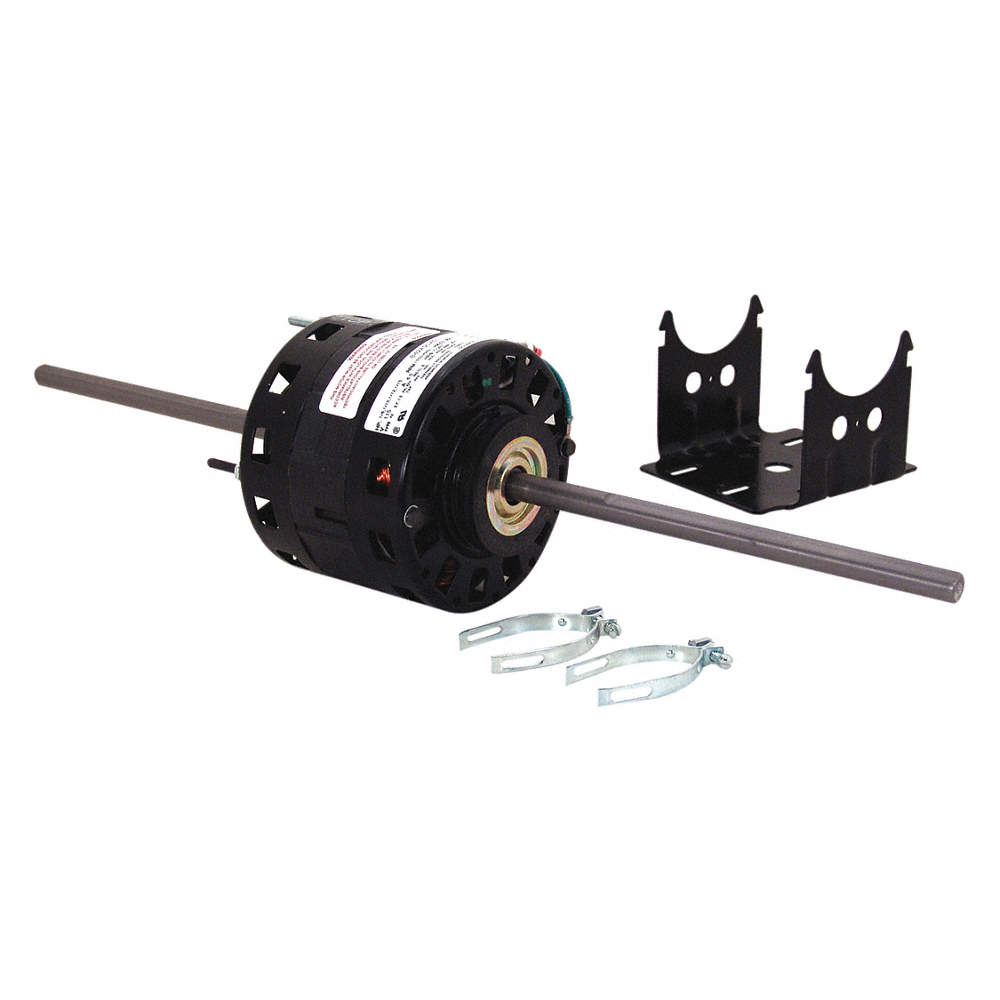CENTURY 1/6 HP Room Air Conditioner Motor,Shaded Pole,1550 Nameplate ...