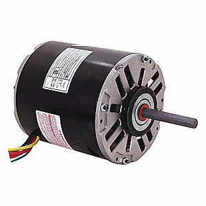 1/4 HP Direct Drive Blower Motor, Permanent Split Capacitor, 1550 Nameplate RPM, 115/208-230 Voltage