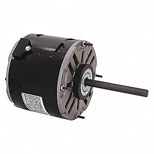 1/8 HP Direct Drive Blower Motor, Permanent Split Capacitor, 1050 Nameplate RPM, 115 Voltage