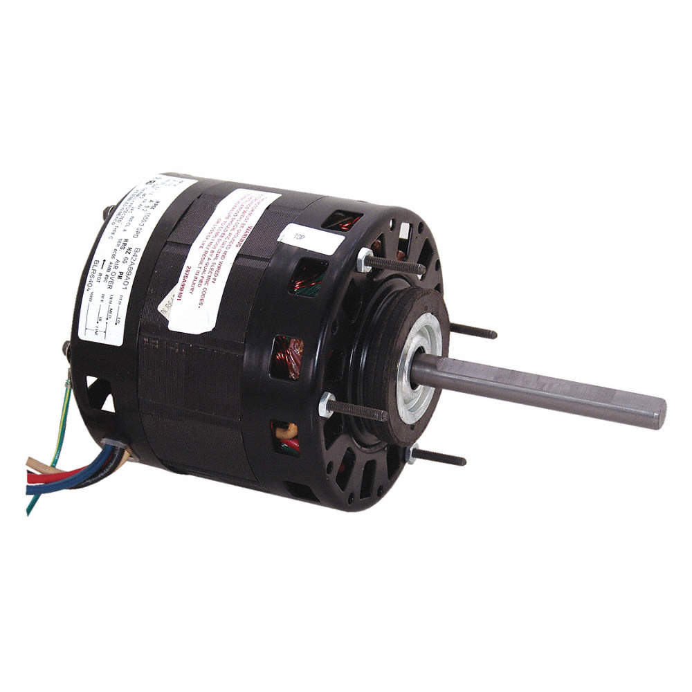 CENTURY 1/6 HP Direct Drive Blower Motor, Shaded Pole, 1050 ...