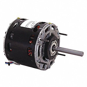 1/8 HP Direct Drive Blower Motor, Shaded Pole, 1050 Nameplate RPM, 115 Voltage, Frame 42Y