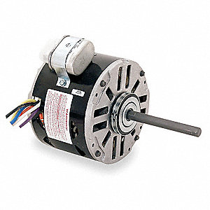 1/4 HP Direct Drive Blower Motor, Permanent Split Capacitor, 1050 Nameplate RPM, 115/208-230 Voltage