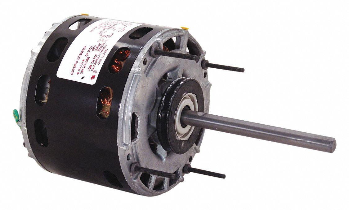 CENTURY 1/5 HP Direct Drive Blower Motor, Shaded Pole, 1050 ...