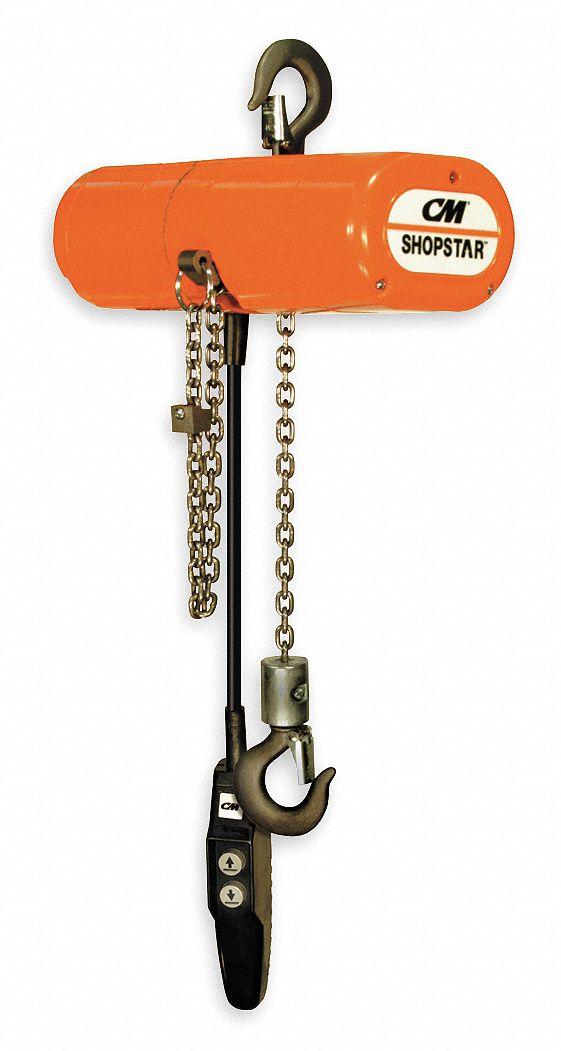 cm shopstar h4 electric chain hoist, 300 lb load capacity, 460v, 10 Norton Wiring Diagram
