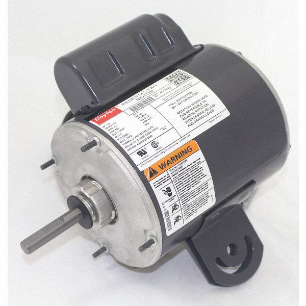 Dayton 1 3 hp pedestal fan motor permanent split for Best lubricant for electric fan motor
