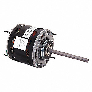 1/8 HP Direct Drive Blower Motor, Permanent Split Capacitor, 1625 Nameplate RPM, 115 Voltage
