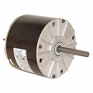 Condenser Fan Motor, Permanent Split Capacitor, York OEM Replacement Brand, 1- Phase, 1/8 HP