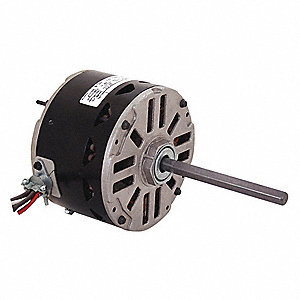 Condenser Fan Motor, Permanent Split Capacitor, Carrier/BDP OEM Replacement Brand, 1- Phase, 1/4 HP