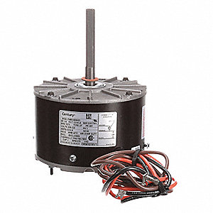 Condenser Fan Motor, Permanent Split Capacitor, Rheem/Ruud OEM Replacement Brand, 1- Phase, 1/6 HP
