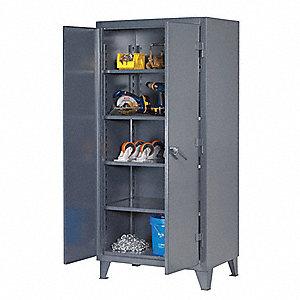Heavy Duty Storage Cabinet Dark Gray 78 H X 36 W 24