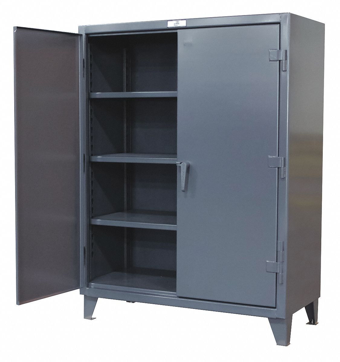 metal cabinet strong hold heavy duty storage cabinet gray 78 quot h x 23225