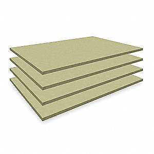 "42"" x 30"" Particle Board Decking, Gray"