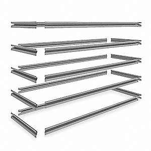 "48"" x 18"" Shelf, Gray"
