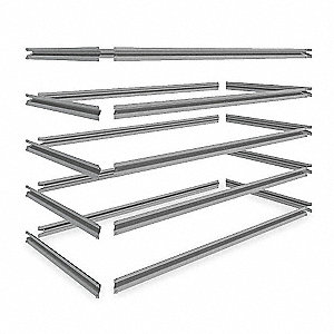 "48"" x 24"" Shelf, Gray"