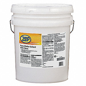 5 gal. Petroleum/D-Limonene Parts Washer Cleaning Solvent, Clear Colorless