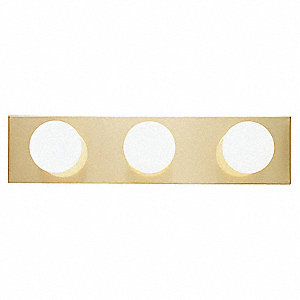 Light Fixture,Polished Brass,300W
