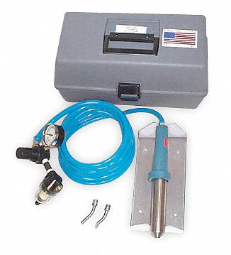 Thermoplastic Welder Kit, 63 Series, Ambient to 1200°F Temp. Range