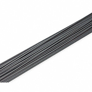 Welding Rod,PVC,3/16 In Dia,Gray,PK16