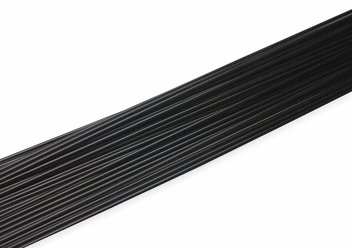 Welding Rod, HMWDPE, 5/32 In, Black, PK35