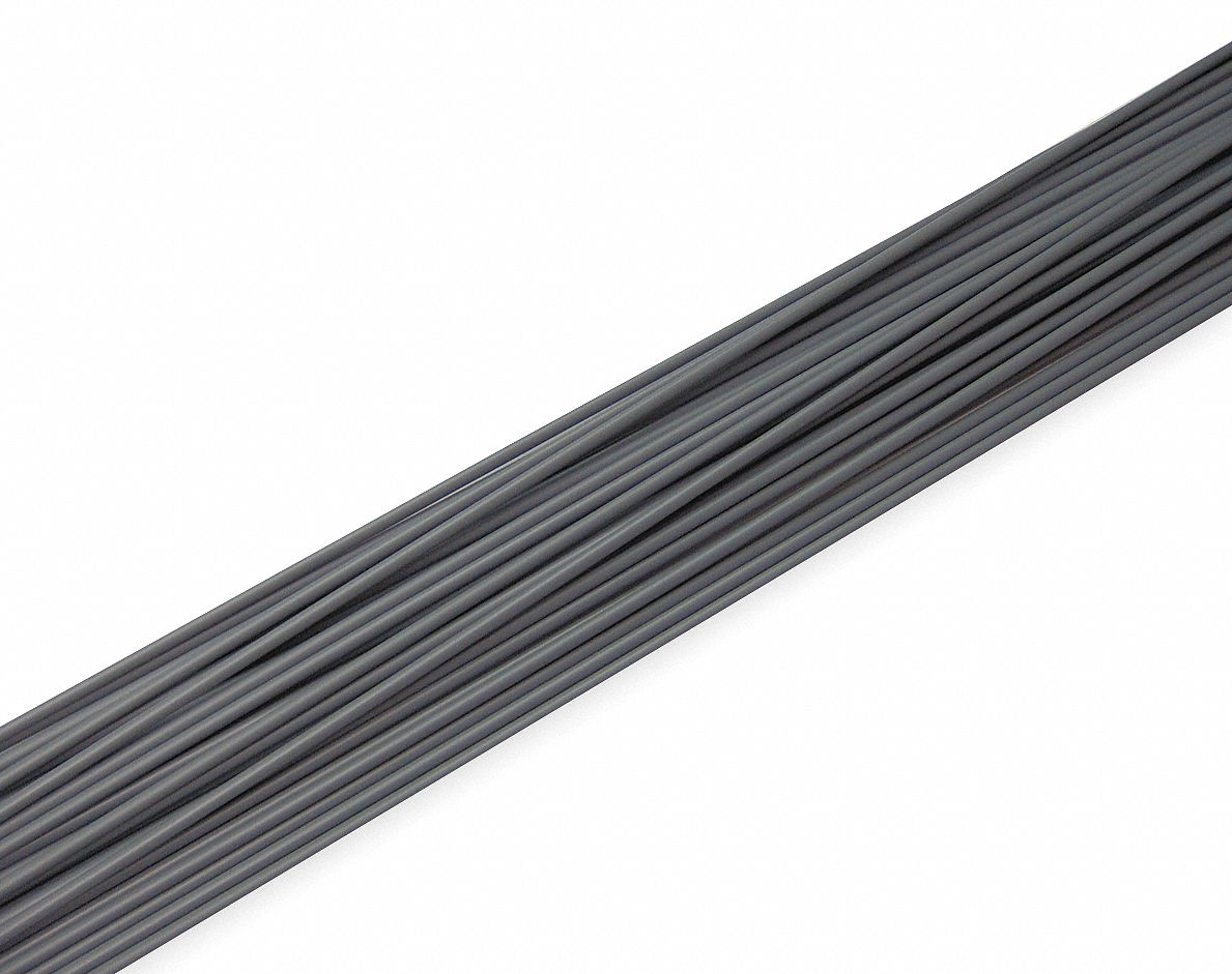 Welding Rod, CPVC, 1/8 In, Gray, PK37
