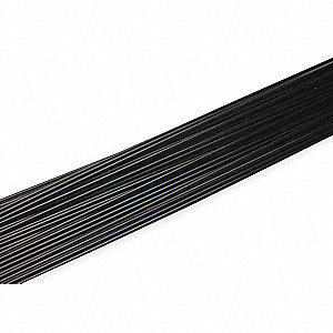 Welding Rod,Copolymer,3/16 In,Black,PK25