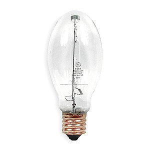 250 Watts Mercury Vapor HID Lamp, ED28, Mogul Screw (E39), 11,000 Lumens, 5700K Bulb Color Temp.
