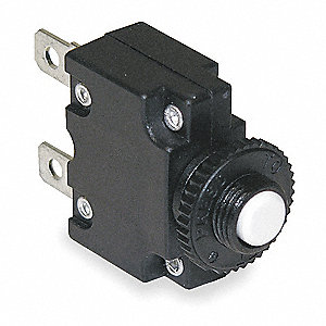 Circuit Breaker,Thermal,5A,Panel Mount